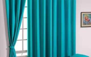 Виды штор на окна своими руками