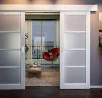 Установить сдвижную межкомнатную дверь
