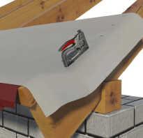 Холодная крыша из профнастила гидроизоляция после монтажа