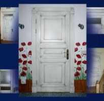 Чем отделать межкомнатную дверь