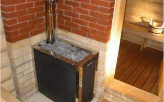 Спандаряна печь в баню