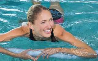 За какой срок можно похудеть в бассейне
