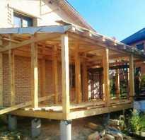 Фундамент своими руками для пристройки к деревянному дому