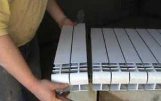 Алюминиевые радиаторы отопления на сколько квадратов одна секция