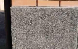 Штукатурка фундамента дома под камень своими руками