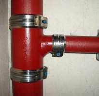 Чугунные трубы для канализации без раструба