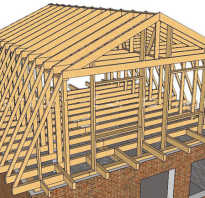 Строим крышу мансарду дома своими руками