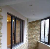 Штукатурка потолка на балконе своими руками