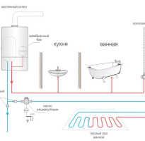 Циркуляция воды в системе горячего водоснабжения частного дома