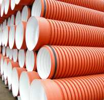 Труба полипропиленовая для наружной канализации диаметры