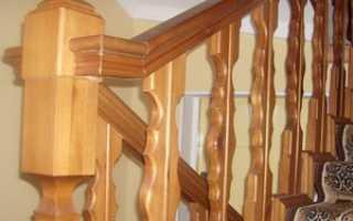 Балясины для лестницы своими руками видео