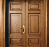 Установка двери массив своими руками