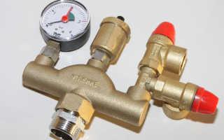 Автоматический клапан в системе отопления частного дома