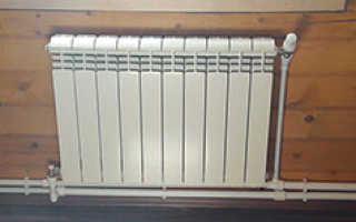 Алюминиевые радиаторы для отопления как их установить