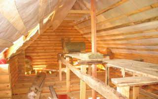 Чем утеплить потолок в сарае своими руками