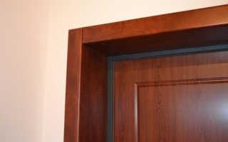 Как сделать откосы на входную дверь металлическую