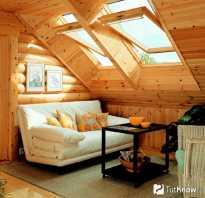 Устройство крыши на бане мансарда