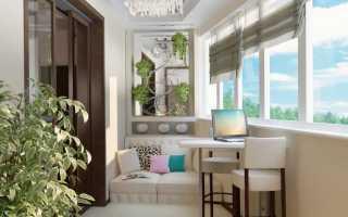 Отделка балкона под ключ цены с внутренней отделкой