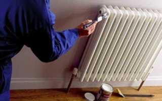Алкидная или акриловая эмаль для радиаторов отопления