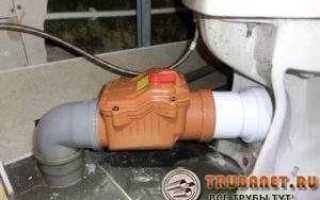 Внутренний обратный клапан для канализации 110