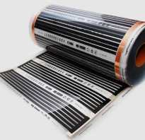 Схема монтажа теплого пола из пленки