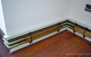 Электрическое плинтусное отопление своими руками в частном доме