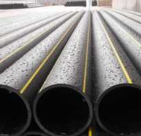 Труба полиэтиленовая для канализации диаметром 50 мм толщина стенки