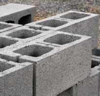 Ширина фундамента для гаража из керамзитобетонных блоков