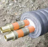 Чем утеплить трубы водопровода на даче