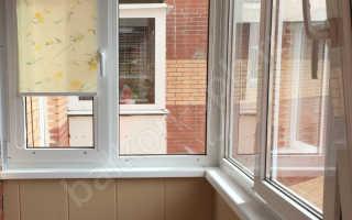 Балконов лоджий остекление и отделка балкона
