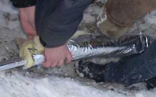 Чем утеплить водопровод от скважины к дому