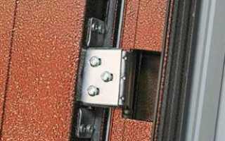 Как снять с петель стальную дверь